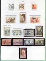 TIMBRES FRANCE REF200120...Lot De Timbres Année 1945-1946, Charnière, Neufs Et Oblitérés - Unclassified