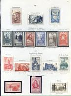 TIMBRES FRANCE REF200120...Lot De Timbres Année 1946-1947, Charnière, Neufs Et Oblitérés - Unclassified