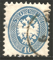 154 Austria Lombardy Venetia 10s Bleu Blue (AUT-378) - Levante-Marken