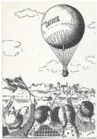 """Schweiz Suisse 1958: Pro Patria WII 86 Mi 657 Yv 606 BALLONPOST """"Cirkus KNIE"""" Mit O RAPPERSWIL 29.VI.58 Nach Mollis - Circo"""