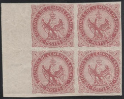 Lot N°L282 Colonies Générales N°6 En Bloc De 4 Neuf ** Luxe - Águila Imperial
