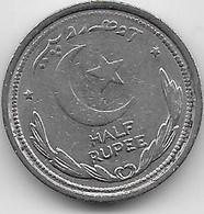 Pakistan - 1/2 Rupee - 1948 - TTB - Pakistan