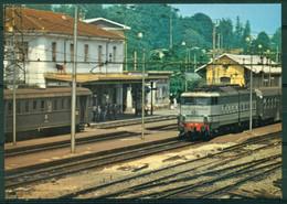 CV1227 MEDA (Monza MB) Stazione FS Con Treni, FG,  Non Viaggiata, Ottime Condizioni - Monza