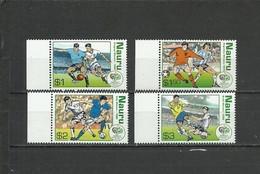 NAURU  Soccer Football World Cup 2006  4v. Perf. - 2006 – Duitsland