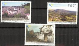 Kosovo 2013 Tourism Architecture Landscapes Set Of 3 MNH - Kosovo