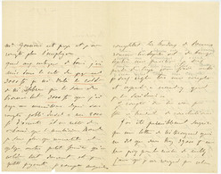 Elisa Napoleone BACIOCCHI (1806-1869) Niece De L'empereur Napoleon Ier Autographe - Handtekening