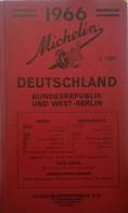 Guida Michelin Deutschland 1966 - Non Classificati