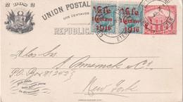 PEROU 1916  ENTIER POSTAL/GANZSACHE/POSTAL STATIONARY/ GANZSACHE  CARNET DE ETEN - Peru