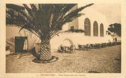 "CPA TUNISIE ""Sidi Bou Said, Hotel Restaurant Dar Zarrouk"" - Tunesien"