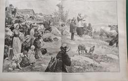 1895 LES JASSERIES DU FOREZ - PIERRE SUR HAUTE - FĒTE DES BERGERS - Ref: ILL Zuei D - Riviste - Ante 1900