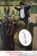 DC230 - Schöne Motivkarte Namenstag Glückwunsch Musik Musiker Instrumente - Otros
