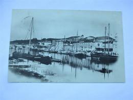 Carte Photo / Papier Glacé - COGNAC - Le Port -  En 1901- TBE - Cognac