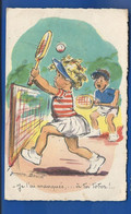 Enfants Tennis   Illustrateur: Germaine Bouret - Bouret, Germaine