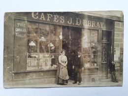 CAFES   J   DEBRAY    DONJEUX - Autres Communes