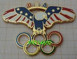 JO 1994  94 TEAM USA   AIGLE PYGARGUE EQUIPE Des ETATS UNIS D'AMERIQUE En Version ZAMAC - Olympische Spiele
