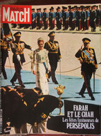 PARIS MATCH N°1172 (23 Oct 1971) Farah Et Le Chah - Fernand Léger - Vietnam - General Issues