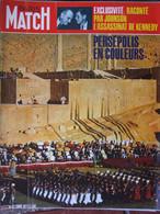 PARIS MATCH N°1173 (30 Oct 1971) Persépolis - Assassinat De Kennedy - Drogué De Tours - Retour Des Rondeurs - General Issues