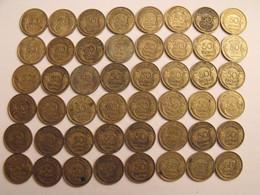 France. Lot De 48 Pièces De 50 Centimes. 1931/1940. - G. 50 Centesimi