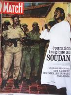 Paris Match N°1161 (7 Août 1971) Epuration Au Soudan - Inde Enfants Vagabonds - Talitha Getty - General Issues