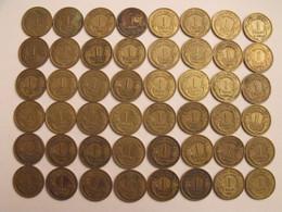 France. Lot De 48 Pièces De 1 Francs. 1931/1940. - H. 1 Franco