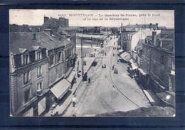 03. Montluçon. Le Quartier Saint Pierre Et La Rue De La République - Montlucon