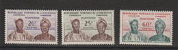 Cameroun 1962 Série Réunification 329-31 3 Val ** MNH - Kameroen (1960-...)