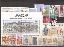 Luxembourg 1998 Année Complète ** - Nuevos