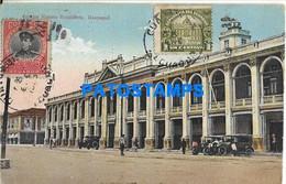 151610 EQUATOR GUAYAQUILCOLEGIO VICENTE ROCAFUERTE CIRCULATED TO ARGENTINA POSTAL POSTCARD - Ecuador