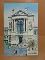 Monaco Cinquantenaire Du Musée 1910-1960  Entrée Du Musée - Maximumkarten (MC)