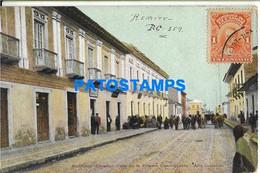 151626 EQUATOR RIOBAMBA CALLE DE LA PRIMERA CONSTITUYENTE POSTAL POSTCARD - Ecuador