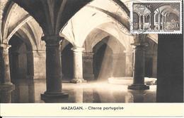 Carte Maximum : Mazagan : El Jadida : Citerne Portuaire. (Voir Commentaires) - Storia Postale
