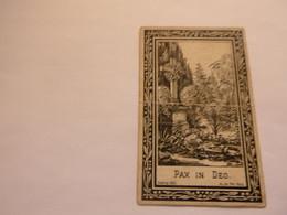 Doodsprentje  ( 5263 )   Dujardin  /  Verbeke     -  Kallo    1903 - Obituary Notices