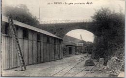 08 REVIN - La Gare Provisoire. - Altri Comuni