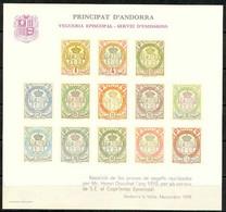 Andorra - 1978 - Vegueria Episcopal - Hojita N. 1 - Viguerie Episcopale
