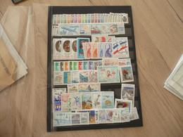 Saint Pierre Et Miquelon Lot à Moitié Faciale Années 1986 à 1992  En Francs + De 310F - Collections, Lots & Séries