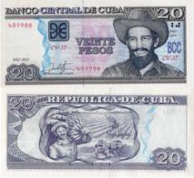 CUBA 20 Pesos, 2019, P-NEW, (not Listed In Catalog), UNC - Cuba