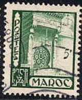 Maroc (Prot.Fr) Poste Obl Yv:282 Mi 301 Yv:0,2 Euro Fès Fontaine Nedjarine (cachet Rond) - Usati
