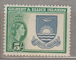GILBERT ELLICE ISLD QEII 1956 MNH(**) Mi 69 #17156 - Gilbert- Und Ellice-Inseln (...-1979)