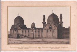 8 Photos Sur Carton - Vues D'Egypte - 9,5x14 - Unclassified