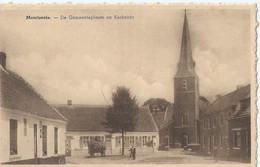 Moortsele - Moortzeele - De Gemeenteplaats En Kerkzicht - Oosterzele