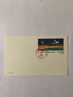USA 1989, ENTIER POSTAL, POSTAL STATIONERY, ARCHITECTURE,LIGHTHOUSE, SEAGULL - Altri