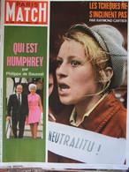 Paris Match N°1009 (7 Sept 1968) Biafra - Prague - BB/E Ric Tabarly - Naviplane - Athlètes Noirs - General Issues