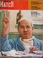Paris Match N°987 (9 Mars 1968) Blaiberg - Vietnam - De Gaulle - Beatles - General Issues