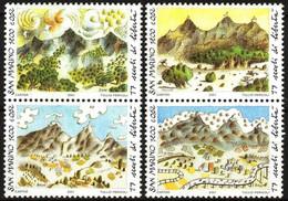 San Marino 2001 1700 Years Of Republic Landscapes Set Of 4 MNH - Ohne Zuordnung