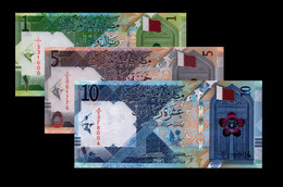 New! Qatar 2020 1 5 10  UNC Riyals P-NEW - Etiopia