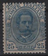 1891-96 Umberto I 25 C. MNH - Neufs