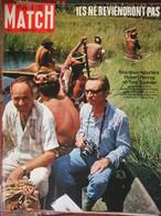 Paris Match N°988 (14 Mars 1968) T Saulnier Et H Herzog - Le Louvre - P Fleming - - General Issues