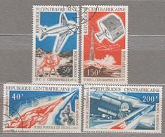 CENTRAL AFRICAN REPUBLIC 1972 Airmail Aerienne  Mi 280-283 Used Oblitere (o) #17161 - Repubblica Centroafricana