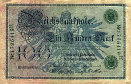 Billet >   Allemand > 100 Mark 1908 - 1000 Mark