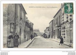CPA 18 Argent Sur Sauldre Rue Du 4 Septembre - Argent-sur-Sauldre